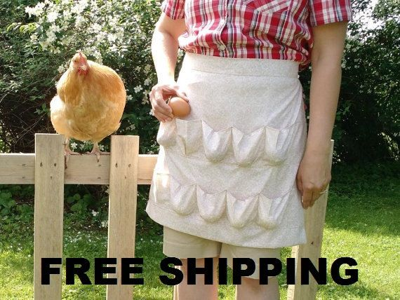 Best SellingEgg Gathering Apron-FREE SHIPPING by YoderSewingRoom