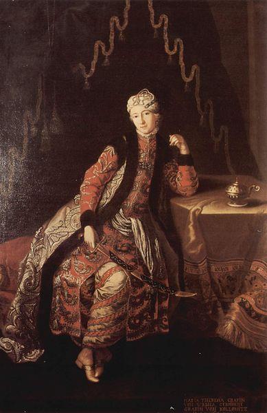 """Oriental Portrait of Jean-Baptiste Tavernier (1700)"" by artist Nicolas de Largilliere (1656-1746). n. s. Lady as a sultana,c 1720 Nicolas de Largielle n. s."
