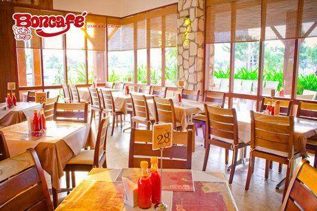 Boncafe Steak and Ice Cream Address : Jl. Manyar Kertoarjo V/1-5. Jl Raya Gubeng 46, Gubeng.  Jl Raya Kupang Indah X A-1, Dukuh Kupang.