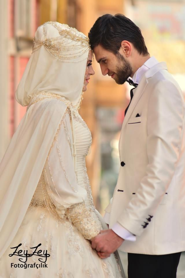 Turkish wedding couple #Perfect Muslim Wedding