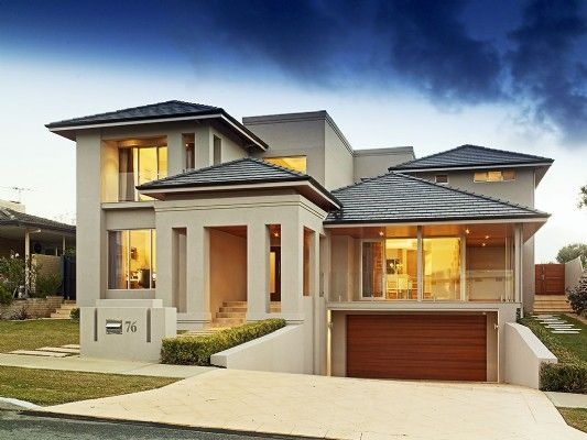 Contemporary Home With Huge Bare Windows For Lots Of Natural Light Benefits Of Custom Homes Designs