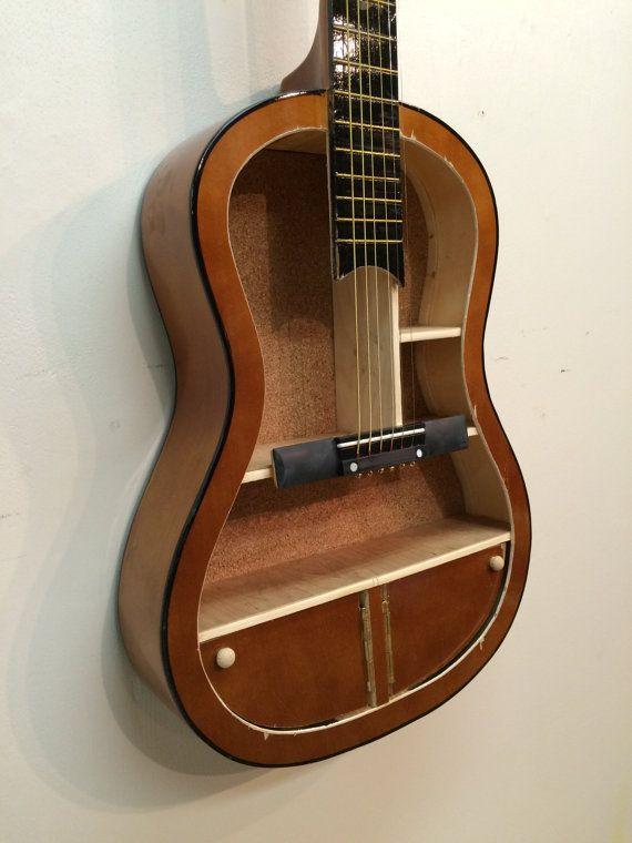 The 25 best ideas about guitar shelf on pinterest music for Acoustic guitar decoration ideas