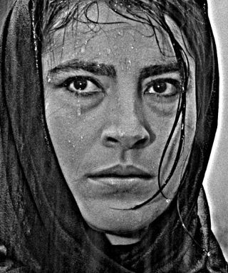 """Irene Papas in """"Zorba the Greek"""" by Michael Cacoyannis, 1964"""