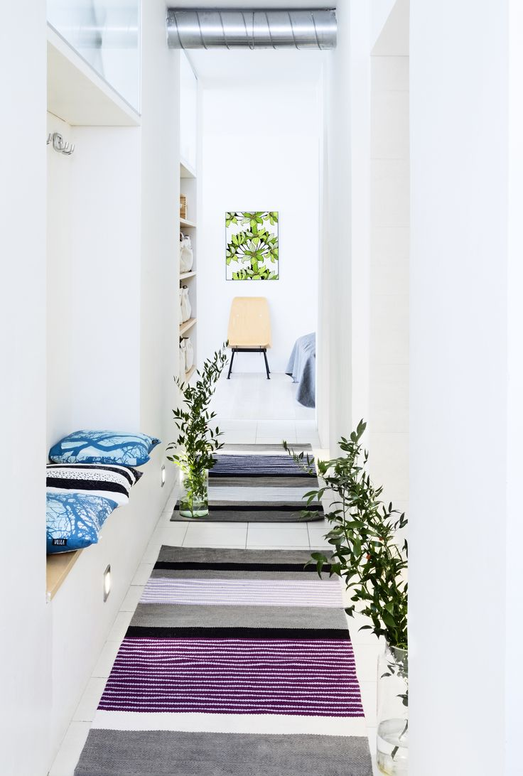 Vallila Interior SS15 collection  Rug: Pornainen by Riina Kuikka