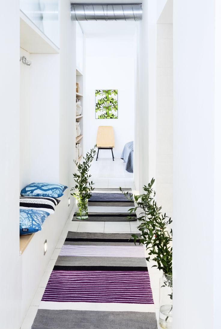Vallila Interior SS15 collection  Rug: Pornainen by Riina Kuikka