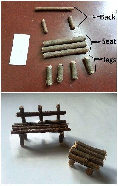 Comment faire un siège miniature?
