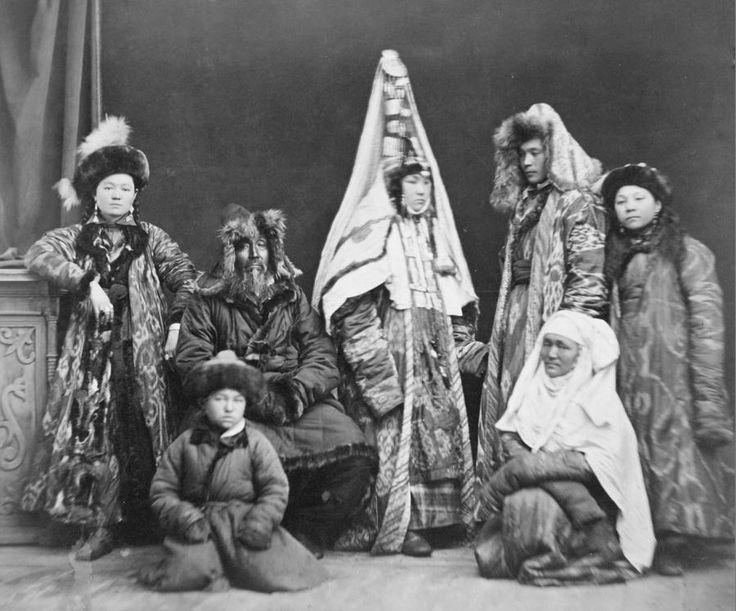 фотографии казахских женщин 19 века
