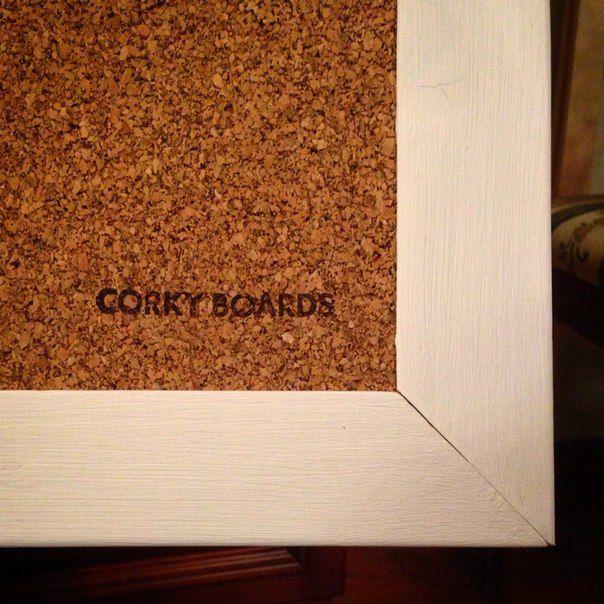Corky Boards - пробковые доски на стену ручной работы.