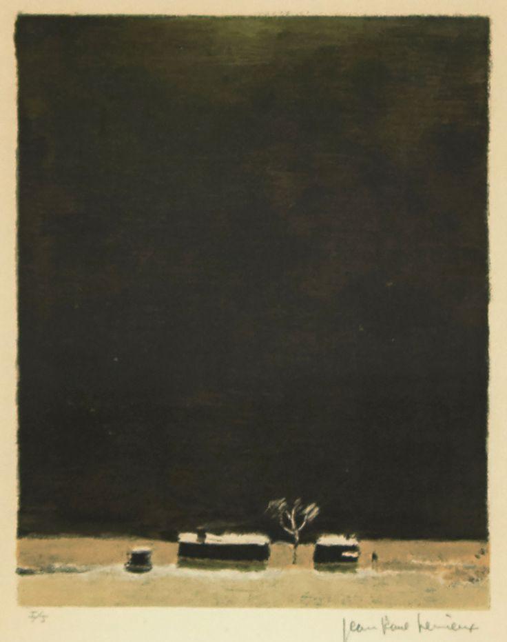 Jean-Paul Lemieux (1904-1990) - Series, La Petite Poule d'eau