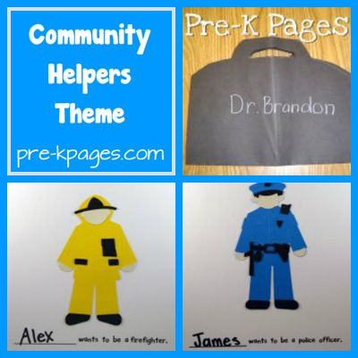Community helper books, lessons, etc  @Leslie Jackson and @Heather Holmes and @Carrie Harper DeCicco check this page out!