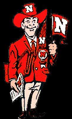 Nebraska Cornhuskers Logo (1962 - 1966)