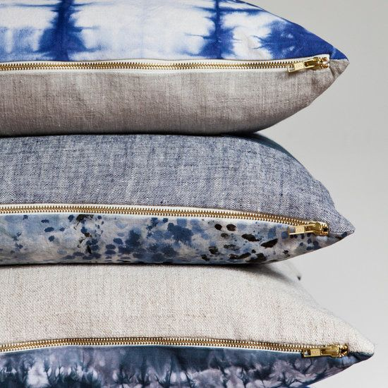 Found: The Chambray Shirt of Throw Pillows Blue throws, Chambray and Pillows
