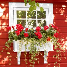 Tutorial: PVC window box (kinda pricey, I'll have to watch for sales on pvc)