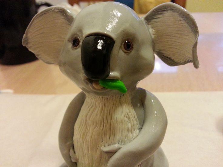 Koala in pasta polimerica