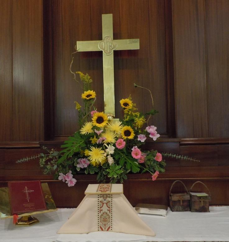 Best Church Flower Arrangements: 17 Best Images About Church Flower Arrangements On