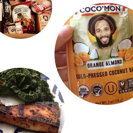Ziggy Marley Organics orange almond coconut oil is yummy on tofu (pictured here), veggies, grains, popcorn, in desserts, and more. How are you using it?   Check out more coconut oil here: http://brinx.it/AlG
