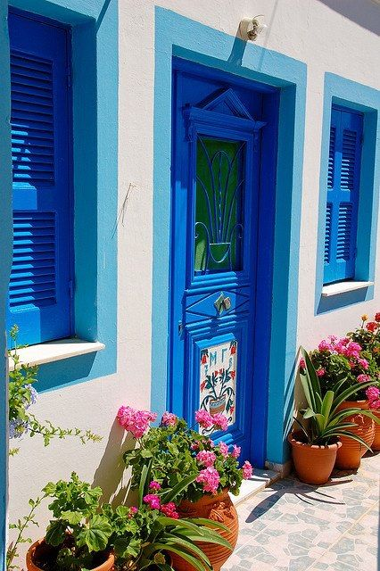 Κάρπαθος, κιόλαανθός..  Karpathos, and all flowers.  Bykruijffjeson Flickr