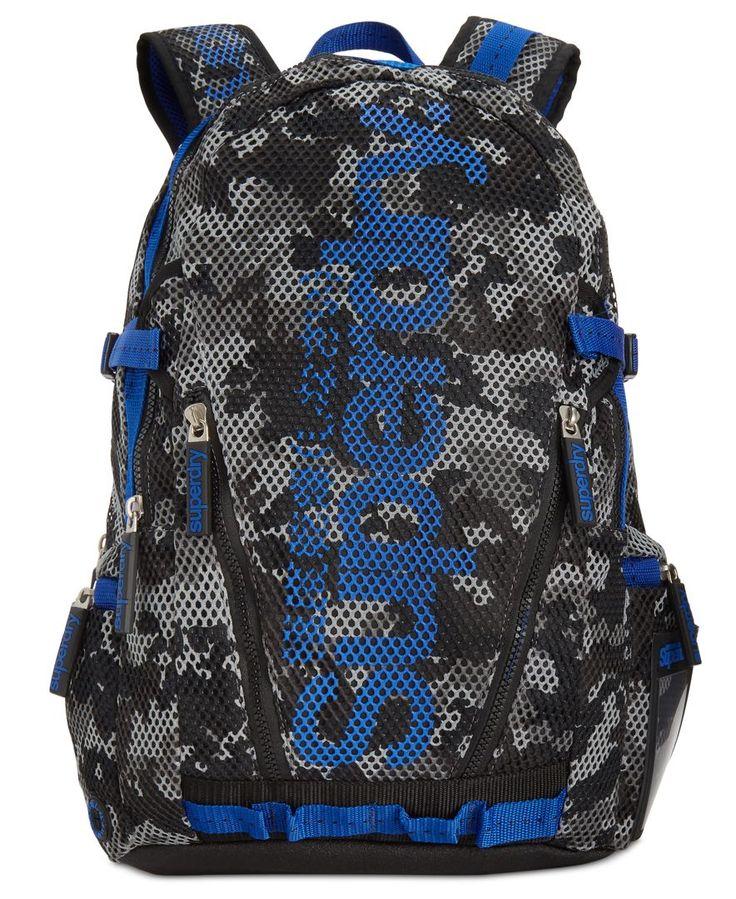 Superdry Men's Camo Mesh Backpack