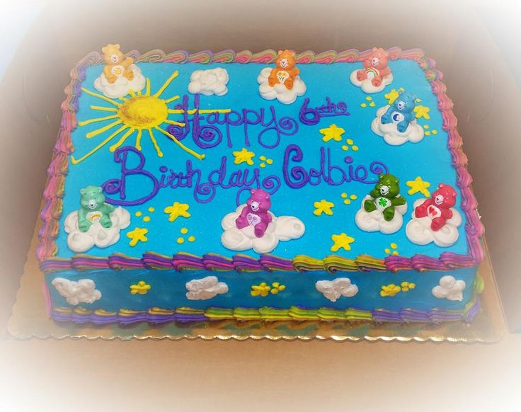 The 51 Best Cakes Images On Pinterest Care Bears Care Bear