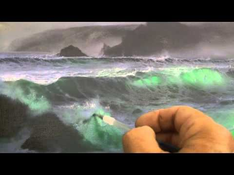 Adding Spray, Mist, Foam and Highlights to a Seascape by Alan Kingwell (...