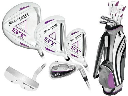 New Orlimar Ladies Right or Left Hand ST Golf Club Set w/Ladies Cart Bag   Driver   3 Wd   Hybrids   6-PW   Free Putter