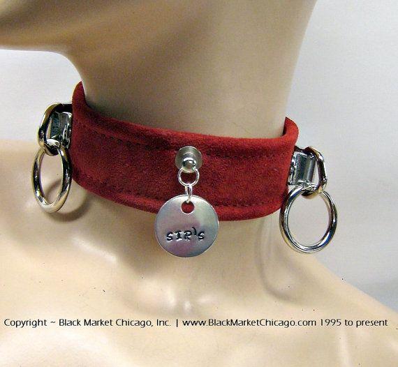 Fetish collars custom
