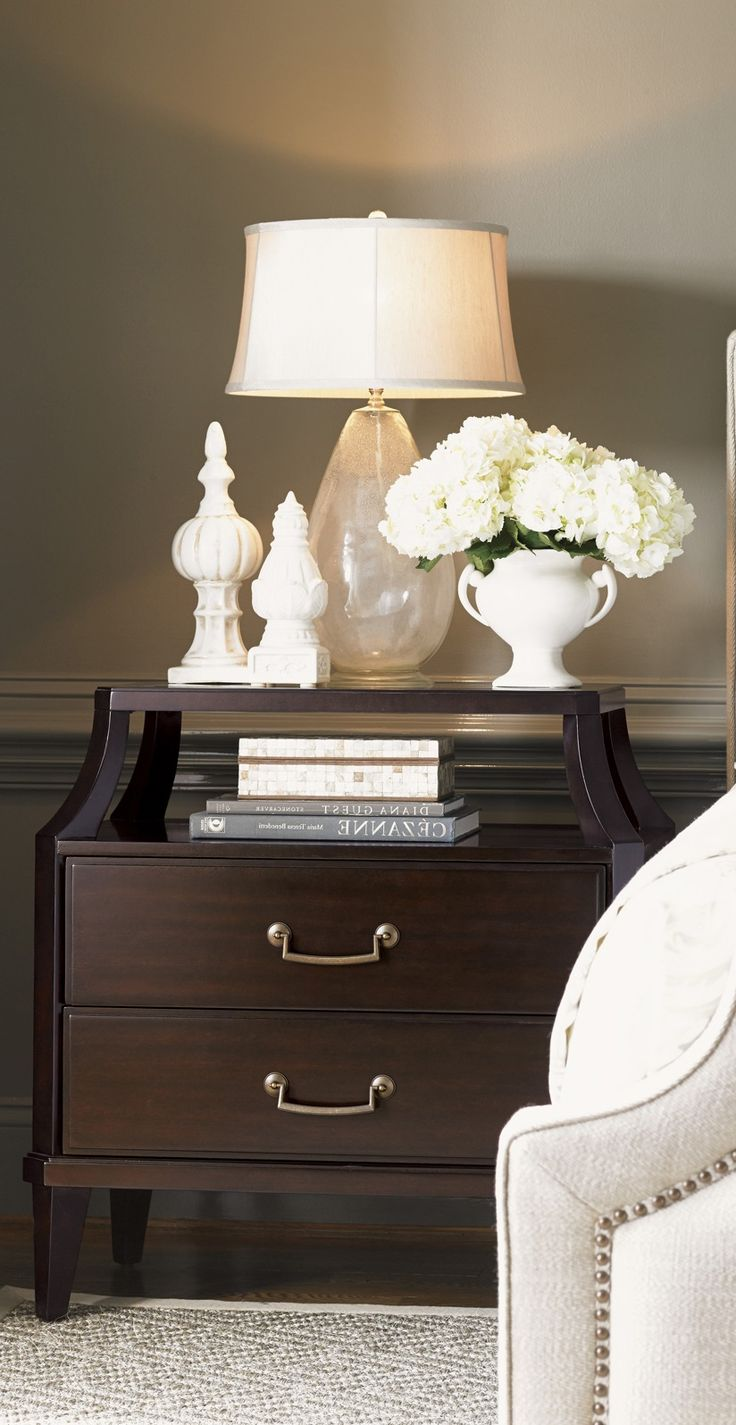 Modern bedside table ideas -  Luxury Nightstands Designer Nightstands Custom Made Nightstands By Instyle
