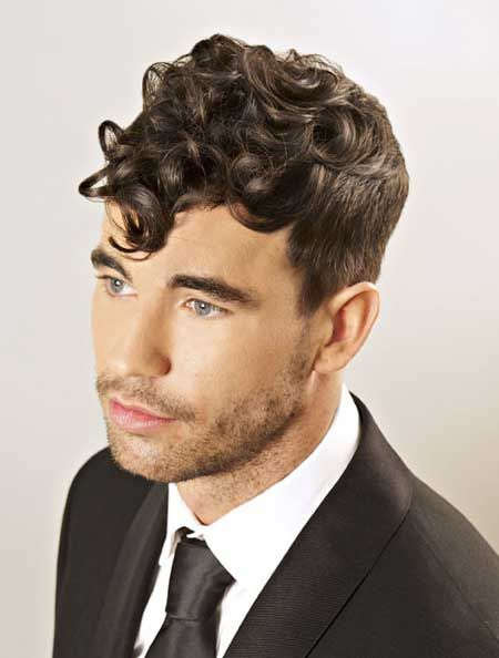 Curly Hairstyles For Men: Be Fashionable! - IdeasKu