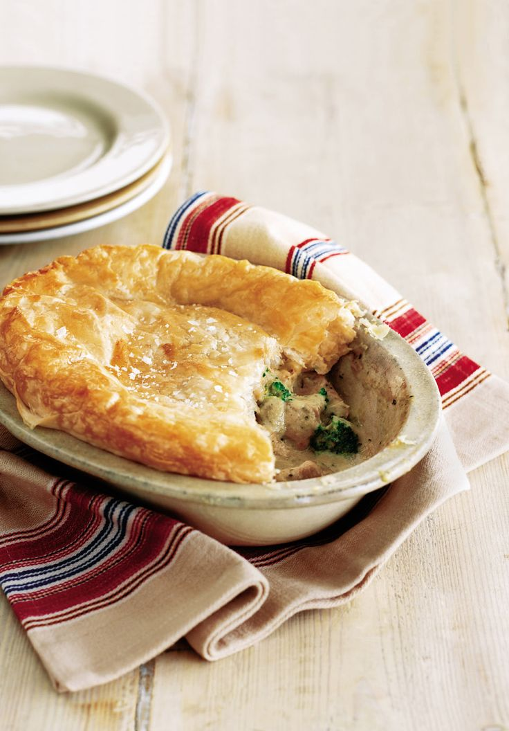 This easy turkey and Stilton pie recipe is a great dish for using up your Christmas leftovers. The sauce is a ready-made soup making this a really quick and easy dish.