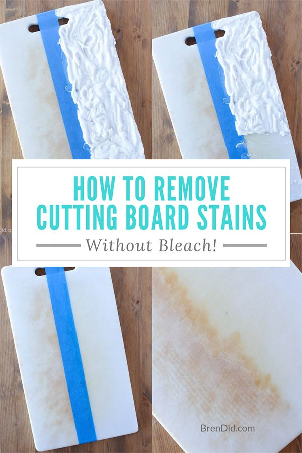 1ecc61aa0a9687c7763261ae32c00c0a Learn how to remove stains from plastic cutting boards with hydrogen peroxide, b...