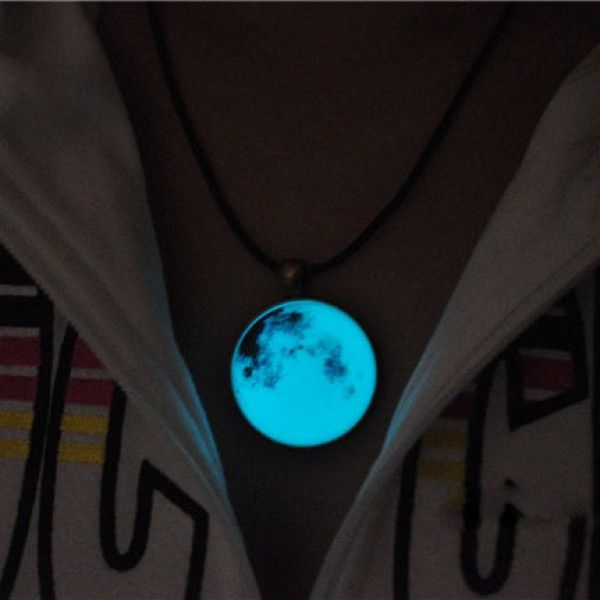 Cool! Retro Glowing Moon Luminous Pendant Original Necklace just $27.99 from ByGoods.com! I can't wait to get it!