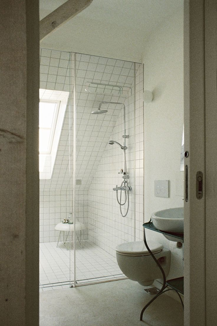 Awesome idea! For rooms that are a bit smaller, use a sliding door instead of one that swings!
