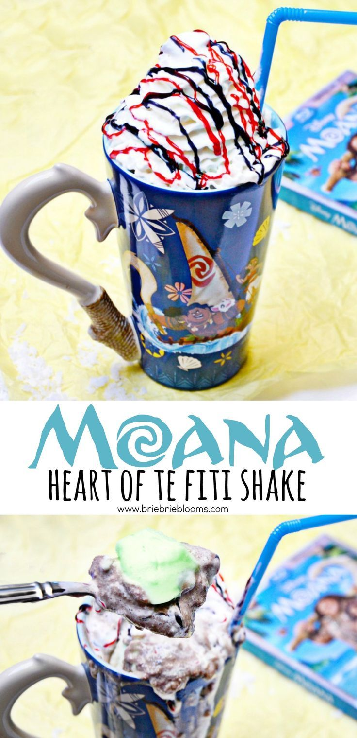 Celebrate the release of Moana with a family movie night and this yummy Moana Heart of Te Fiti shake recipe.