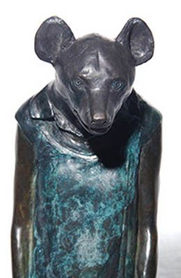 "Original Elizabeth Balcomb ""Therianthropes"" sculptures. bronze. #ElizabethBalcomb #FineArt #Sculpture #Bronze #Therianthropes #SouthAfricanArt #SouthAfricanArtist For more please visit: www.finearts.co.za"