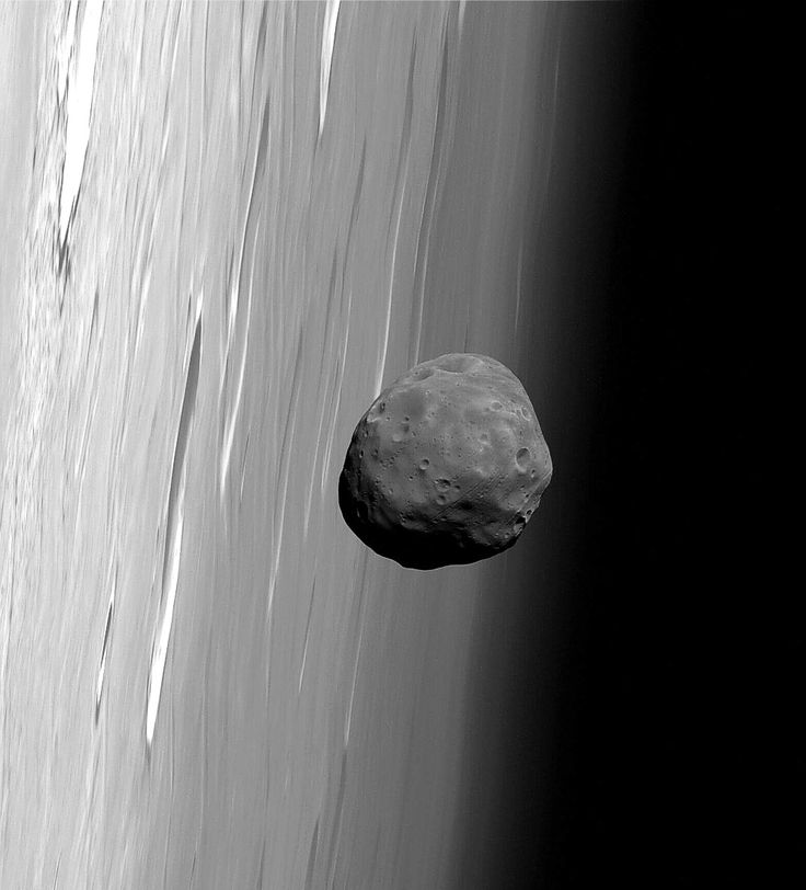 Phobos and Mars