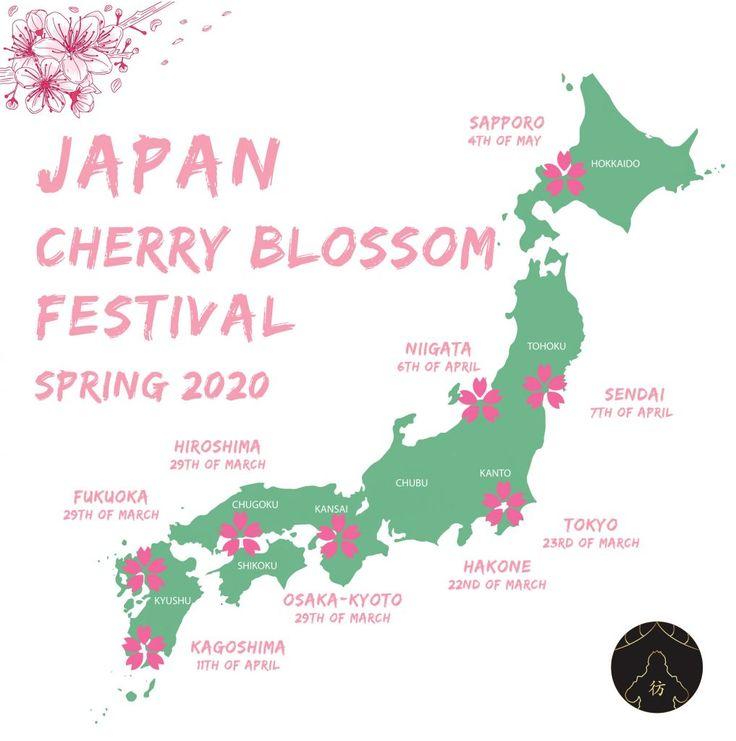 Sakura Japan Guide To Enjoy The Cherry Blossom Festival Spring 2021 Japan Cherry Blossom Festival Sakura Festival Japan Cherry Blossom Festival