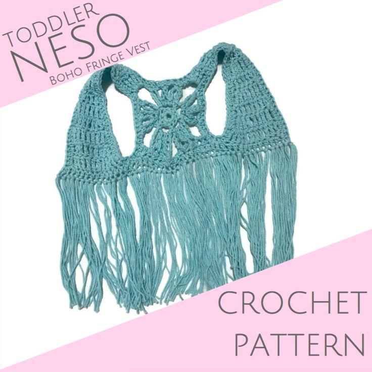 TODDLER Neso Crochet PATTERN