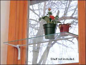 Beautiful Lee Valley Self Supporting Window Rod U0026 Brackets   Hardware