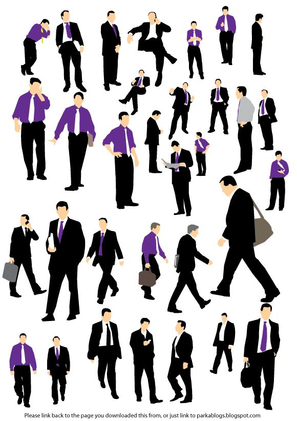 Business Man Vectors