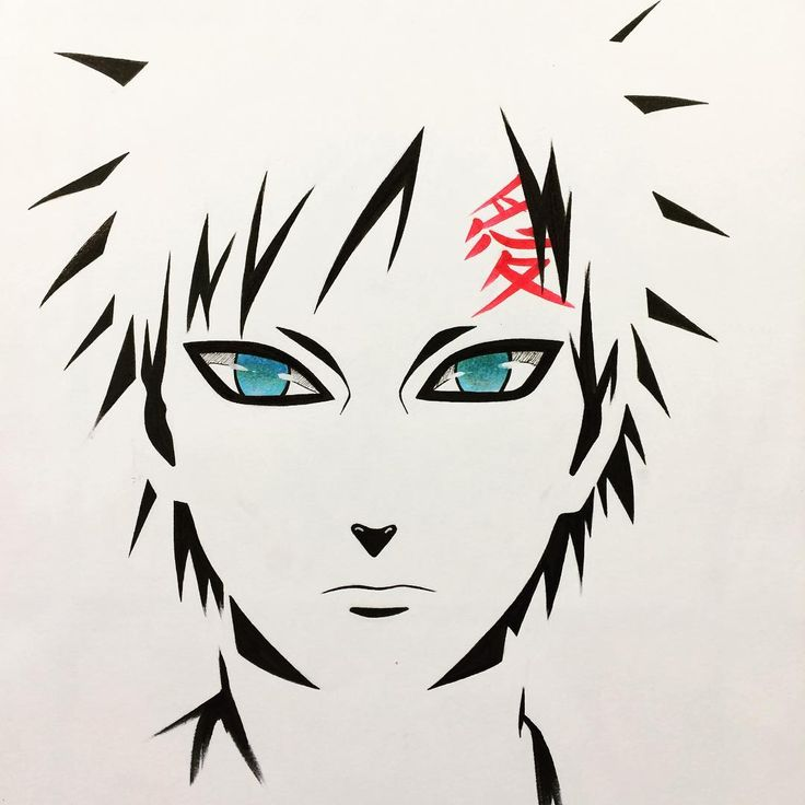 "10.6k Likes, 106 Comments - Shaaanjaro (@shaaanjaro) on Instagram: ""Gaara for #inktober  If you are interested of buying prints of my works, check link in my bio ✌️"""