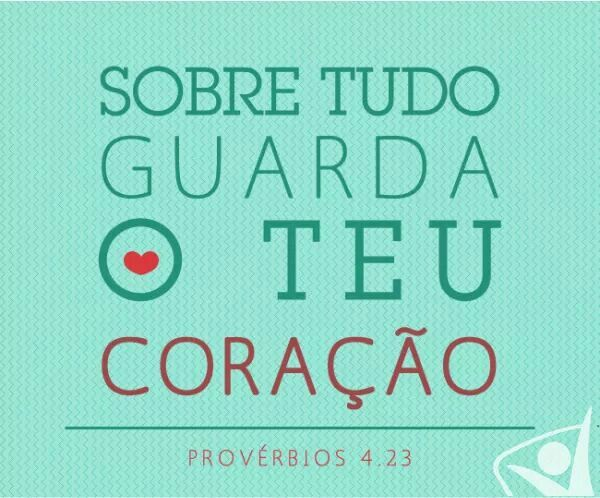 Provérbios 4:23 - Versículo Bíblico