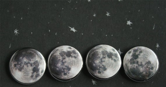Moon Button pack  $5: Moon Buttons, Buttons Packs, Posts, Lunar Buttons, Buttons Bows