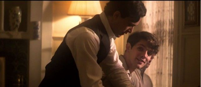 Testament Of Youth: Colin Morgan and Kit Harington fans go wild ...