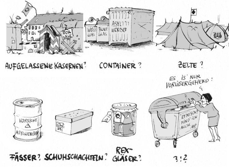 #Pammesberger: Unterbringungsmöglichkeiten für Flüchtlinge?