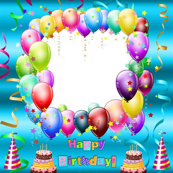 30 best Happy Birthday Frames images on Pinterest Happy birthday - birthday wish template