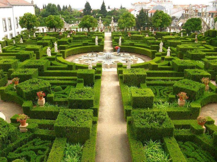 Gardens, Castelo Branco, Portugal