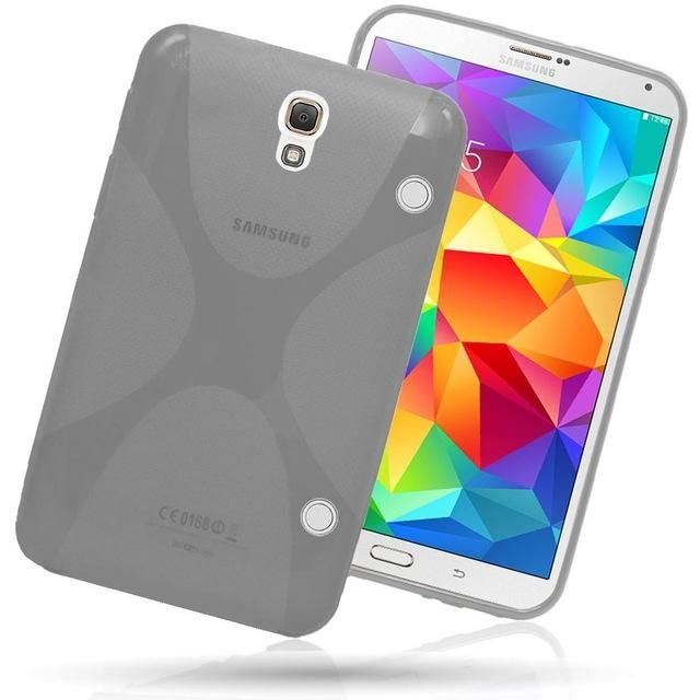 """High Quality for Samsung Galaxy Tab S 8.4"""" T700 T705C Case Soft X Line TPU case silicone cover for Galaxy Tab S T700 Cover"""
