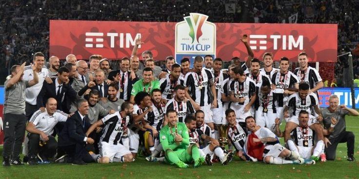 Kalahkan Lazio 2-0, Juventus Juara Coppa Italia 2016-2017