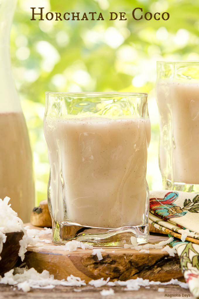 Horchata de Coco is a popular Mexican sweet coconut rice drink. It's a dairy-free, creamy, and cold beverage made with white rice, rice milk, and…