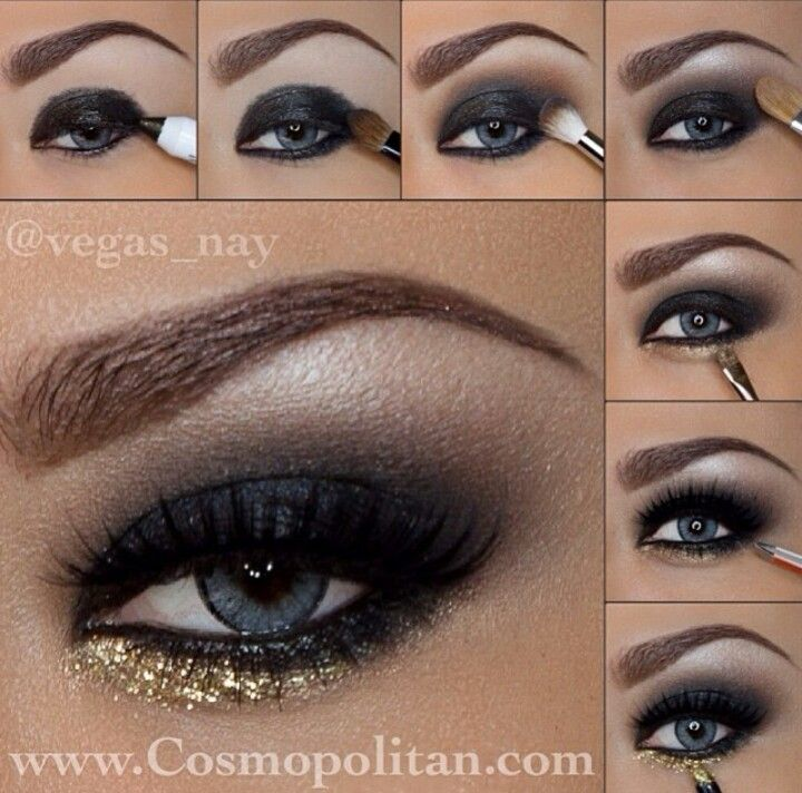 Step by step eye makeup | *Makeup* | Pinterest | Nice ...